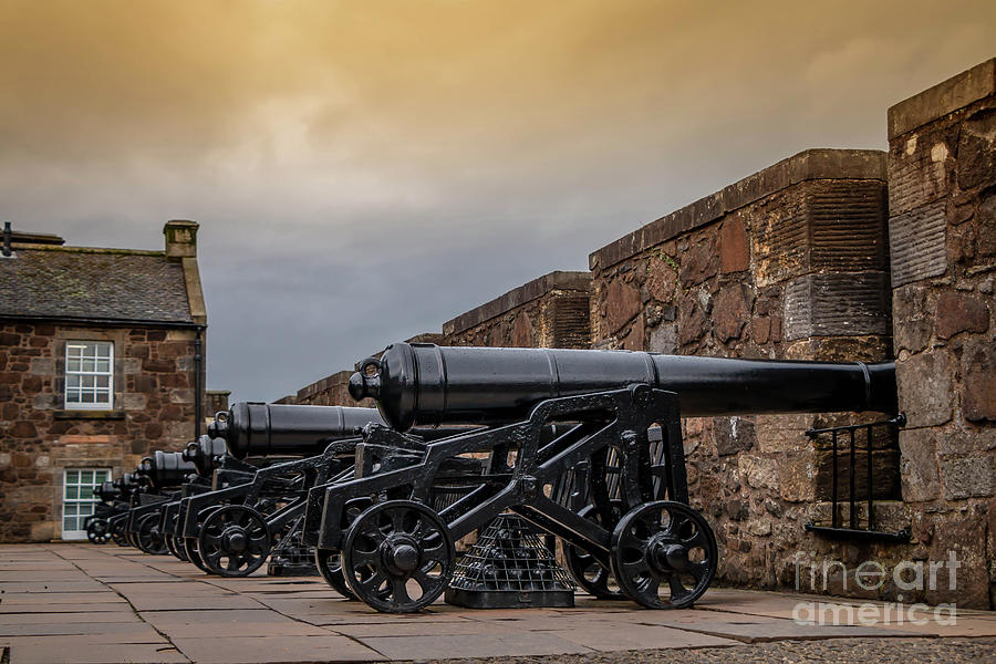 Stirling Castle Canons Photograph