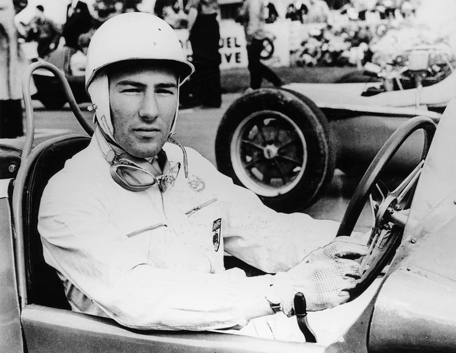 Stirling Moss At Goodwood, 1954 Photograph by Heritage Images
