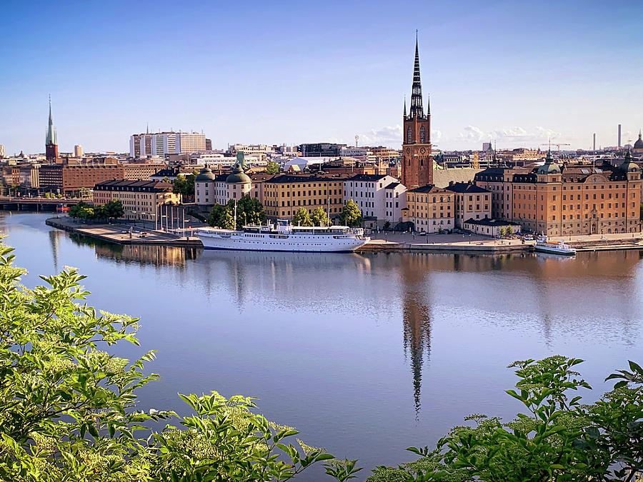 Stockholm from Monteliusvagen by Tony Crehan