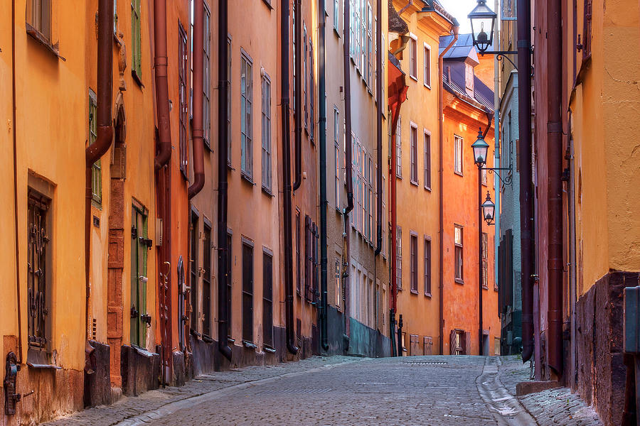Stockholm - Old Town Alley Photograph by Johan Klovsjö