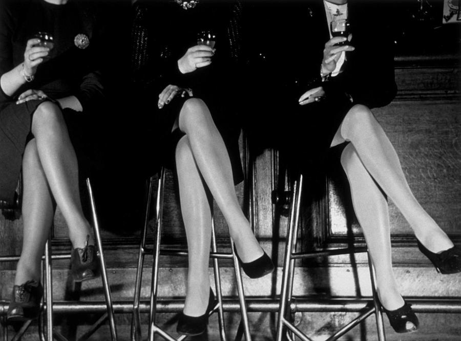 Stockings Photograph by Kurt Hutton