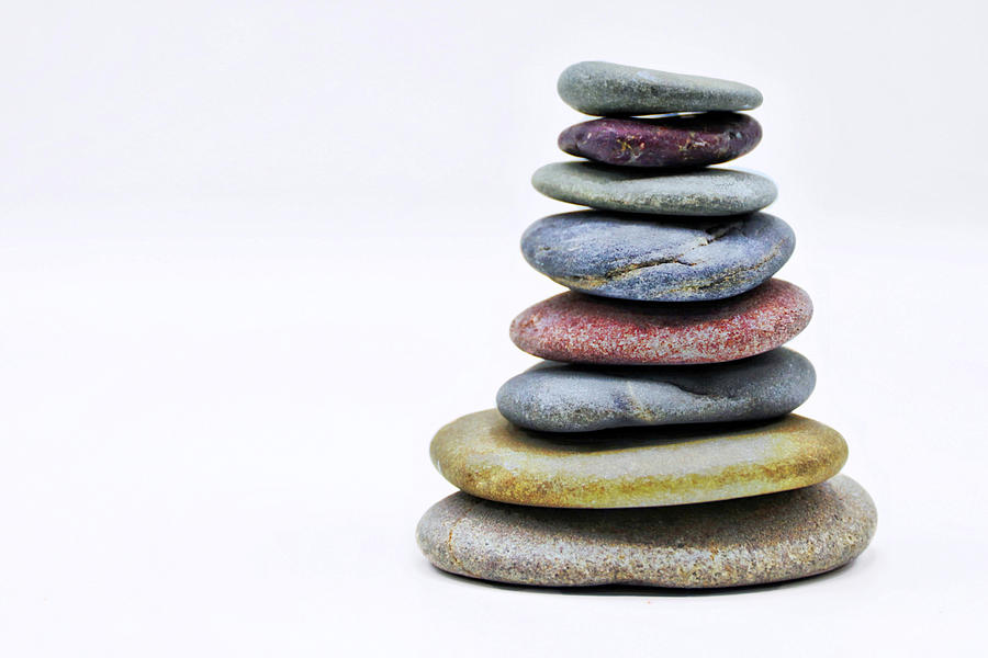 Stone Cairn by Suzanne Stout