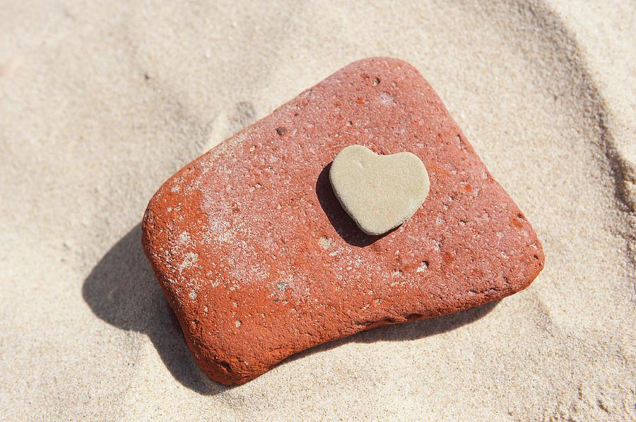 Stone Heart ii by Helen Northcott