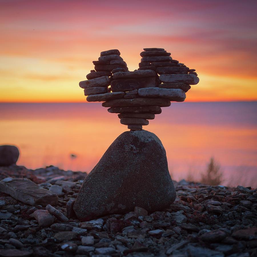 Stone heart by Pontus Jansson