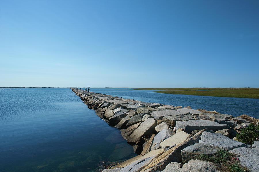 Stone Pier Photograph by © Bill Weston