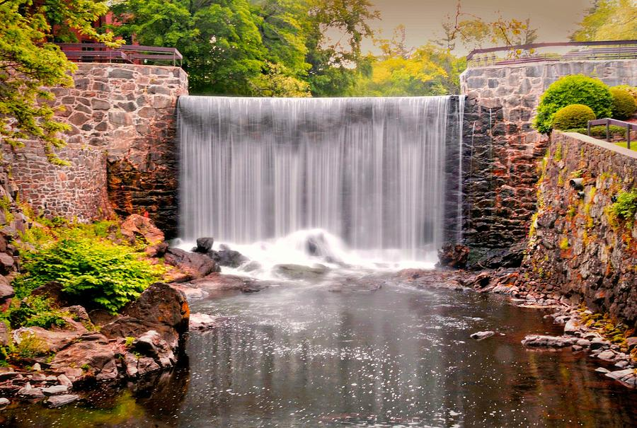 Stone River Falls by Diana Angstadt