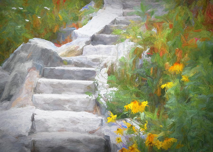 Stone Steps by Jack Wilson
