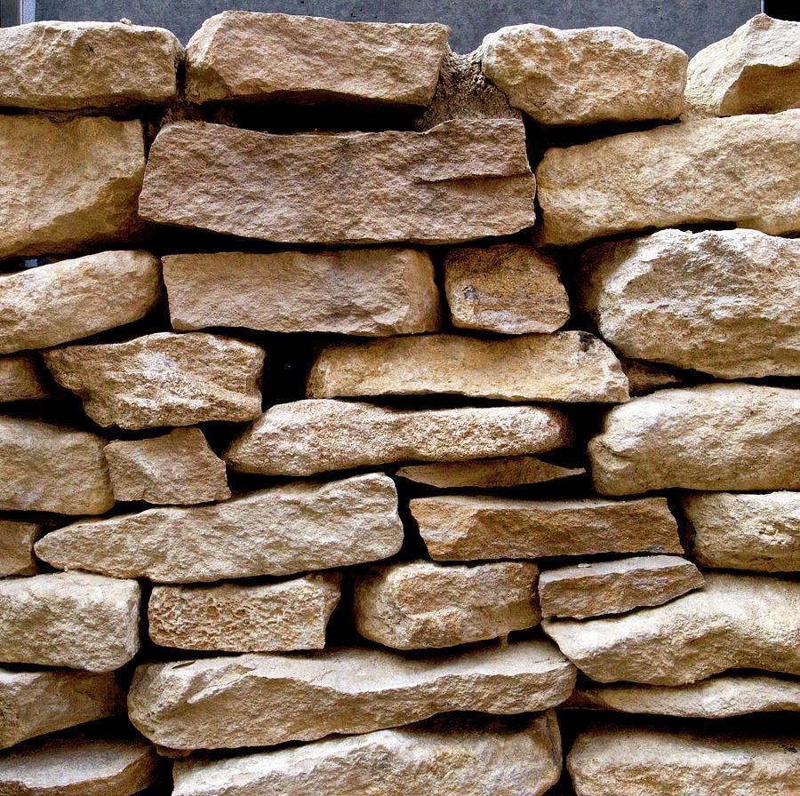 Stone Wall Photograph by Junichi Hayakawa