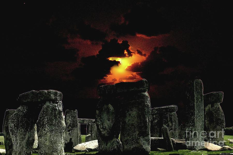 Stonehenge and Lemon Moon by Janette Boyd