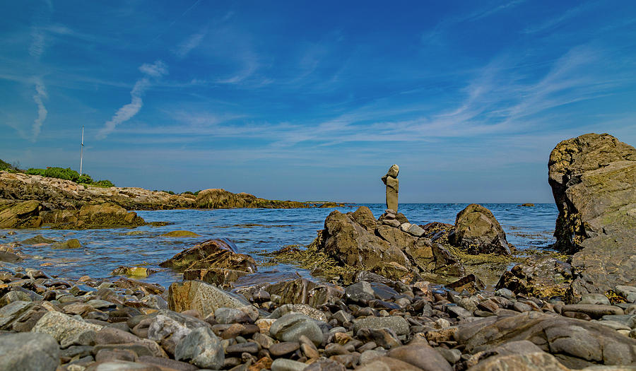 Kennebunkport Photograph - Stones by Betsy Knapp