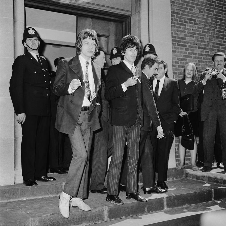 Stones In Court Photograph by Ted West
