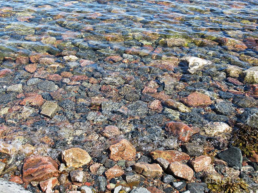Stones in the Baltic Sea by Chani Demuijlder