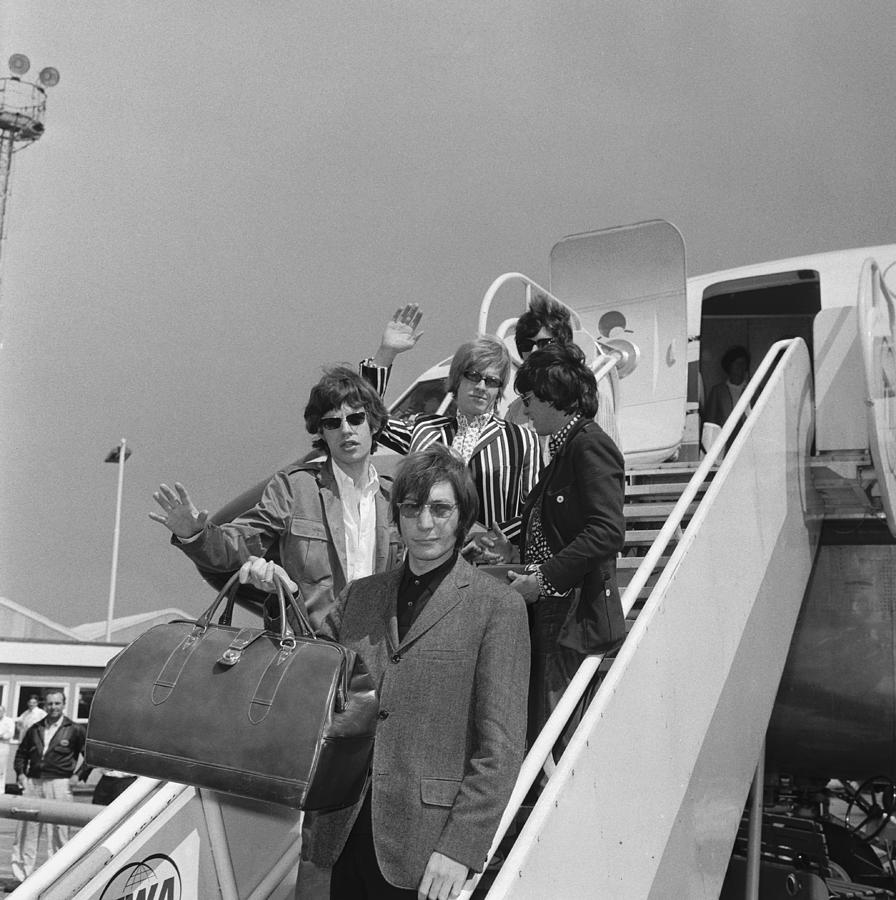 Stones Off To America Photograph by Ted West