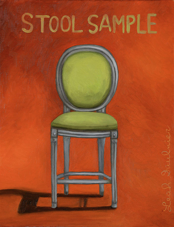 Stool Sample 2 by Leah Saulnier The Painting Maniac