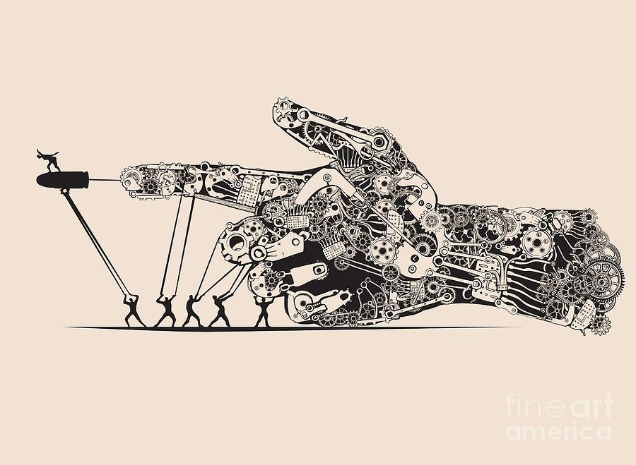 Gun Digital Art - Stop The War by Ryger