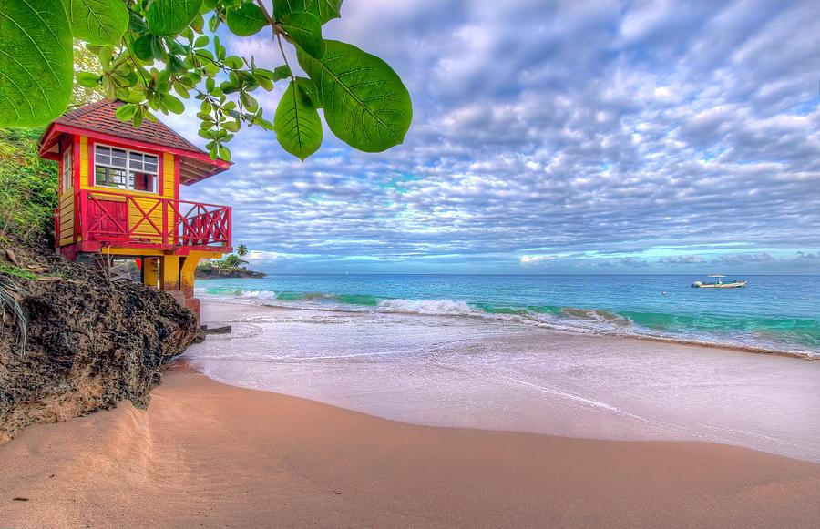 Store Bay Beach, Tobago  by Nadia Sanowar