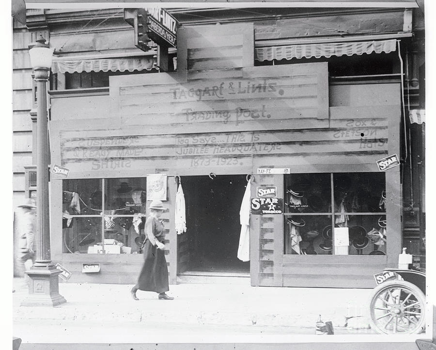 Store Getting Ready For Fort Worth Photograph by Bettmann
