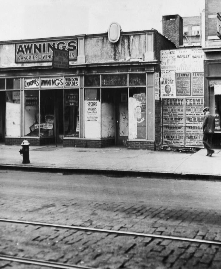 Store Where Anthony Marinos Speakeasy Photograph by New York Daily News Archive