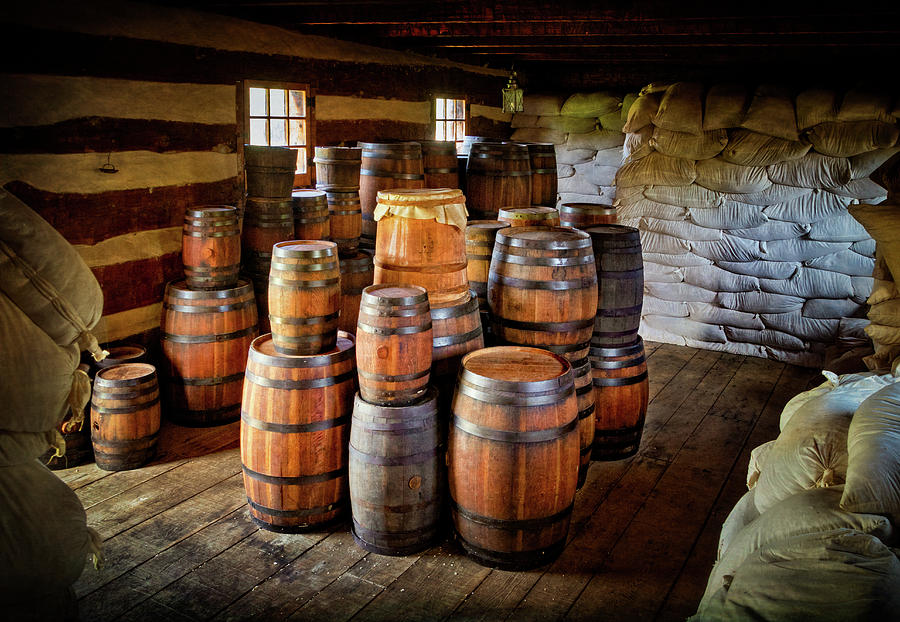 Storehouse Goods at Fort Ligonier by Carolyn Derstine