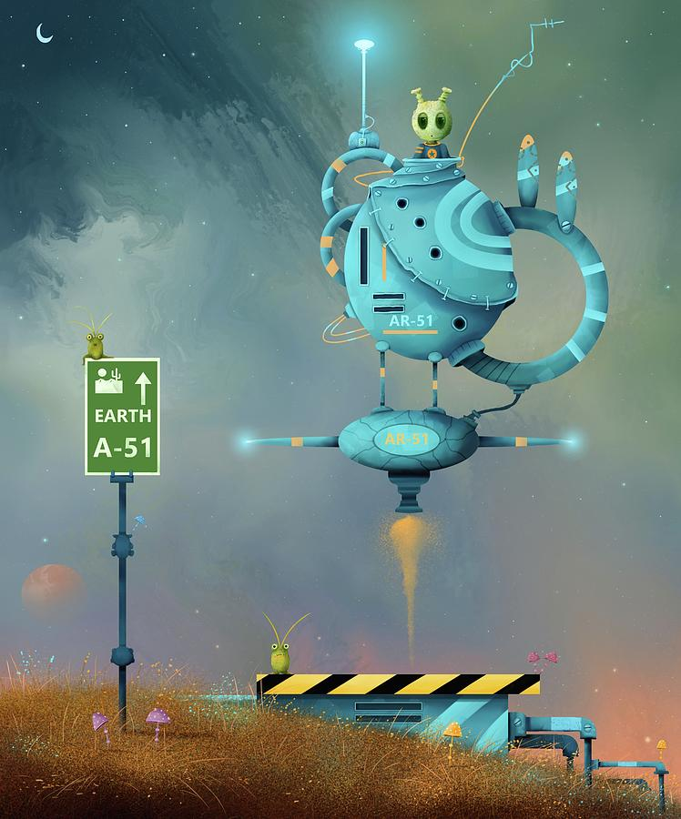 Storm Area 51, They Can't Stop All of Us by Joe Gilronan