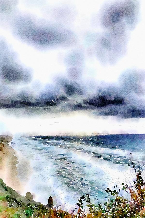 Storm Brewing by Bonnie Bruno