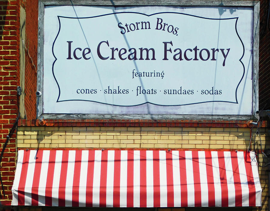 Storm Bros Ice Cream Factory Annapolis MD by Emmy Marie Vickers