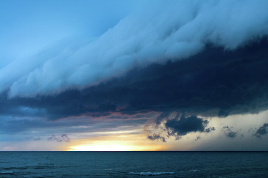 Storm Cell Photograph by Djphotography