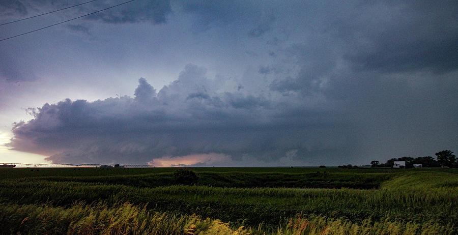 Cloudscape Photograph - Storm Chasing West South Central Nebraska 048 by Dale Kaminski