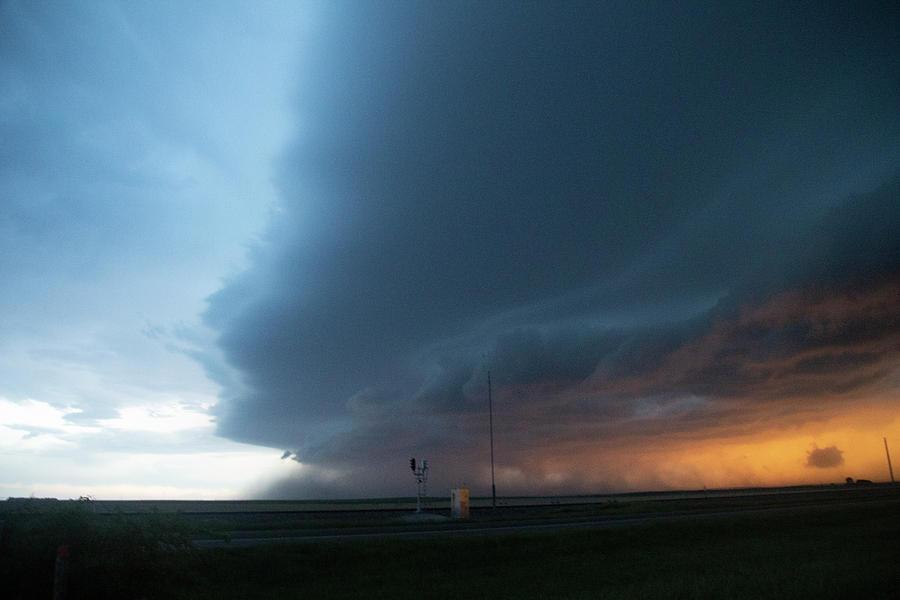 Cloudscape Photograph - Storm Chasing West South Central Nebraska 067 by Dale Kaminski