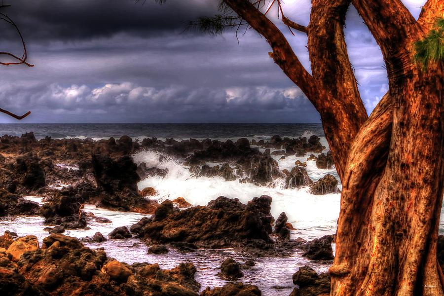 Storm clouds maui by Tom Prendergast