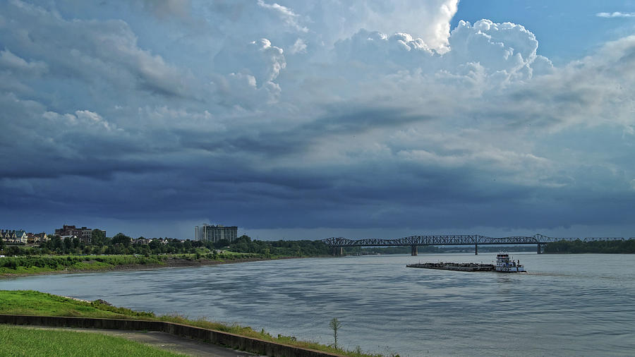 Storm Clouds Over Memphis by George Taylor