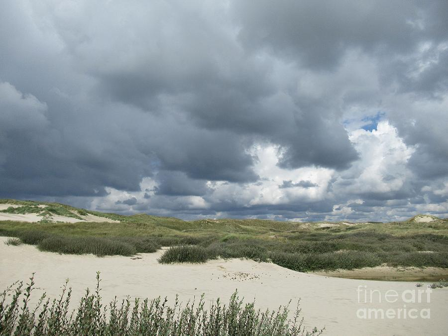 Storm in Schoorl dunes by Chani Demuijlder