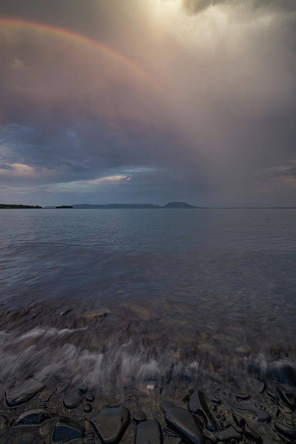 Storm Photograph - Storm In The Bay by Jakub Sisak