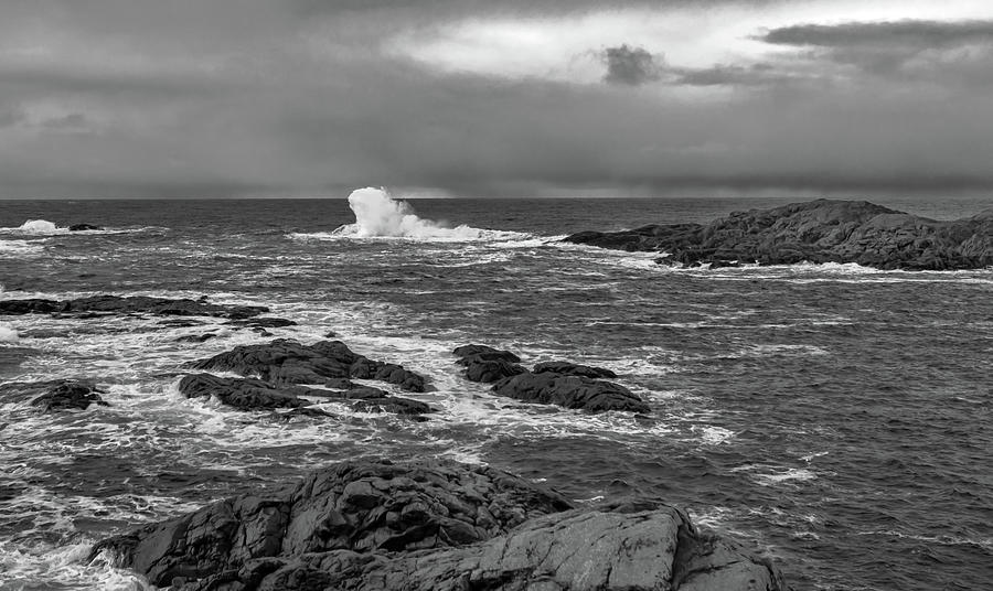 Norway Photograph - Storm by Kai Mueller
