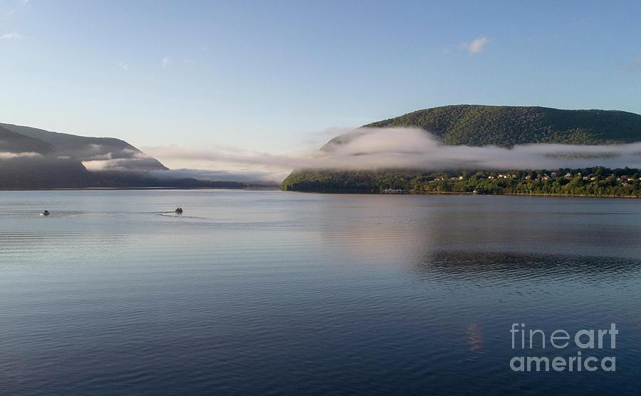 Storm King Mountain Clouds by Joe Santacroce