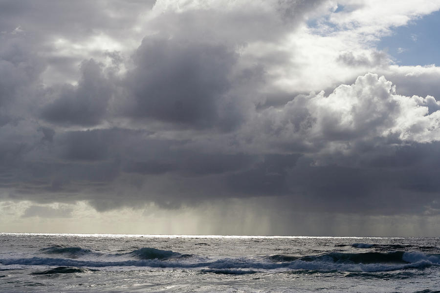 Climate Photograph - Storm Out To Sea by Oriba