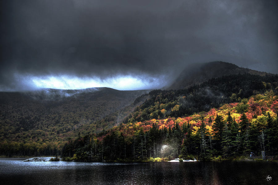 Storm Over a Woodstock Beaver Pond by Wayne King