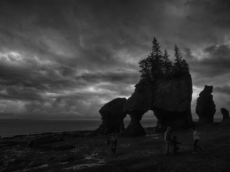 Bay Of Fundy Photograph - Storm Over Fundy by Rob Wilson