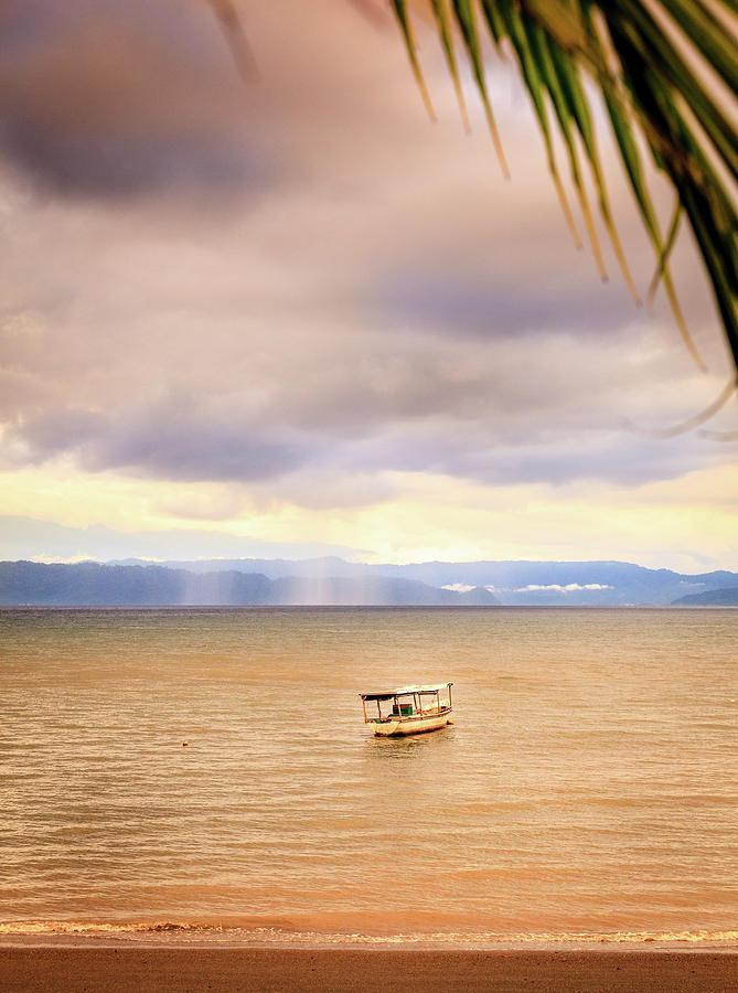 Storm Over Sea In Costa Rica Photograph