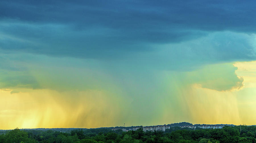 Storm Over Spring View Apartments by Jason Fink