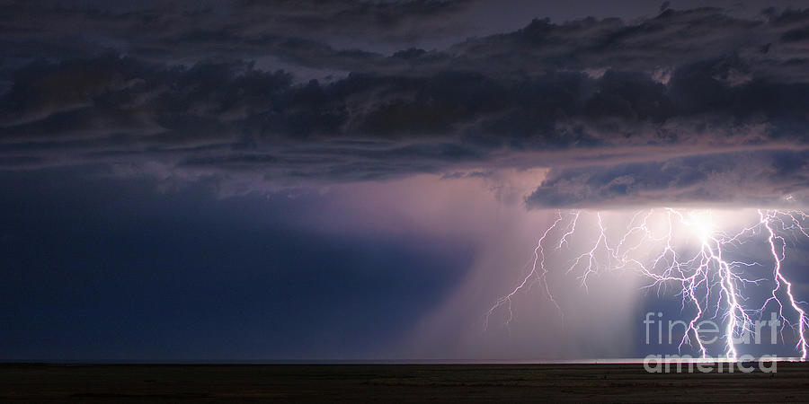 Storm Over The Great Salt Lake by Spencer Baugh