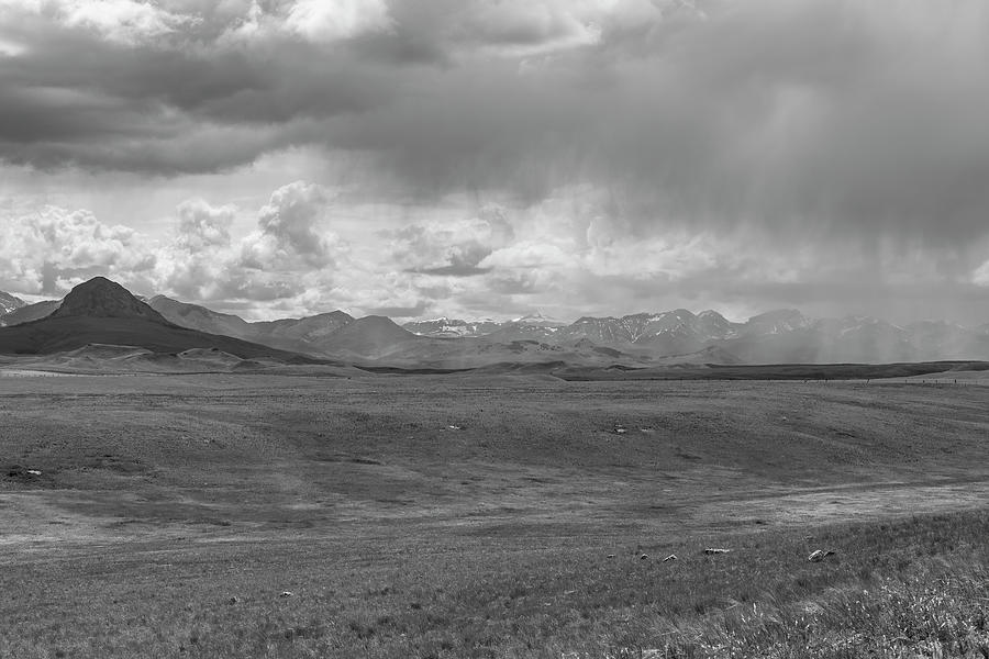 Storm Passing Over the Rocky Mountains 2014-1 by Thomas Young
