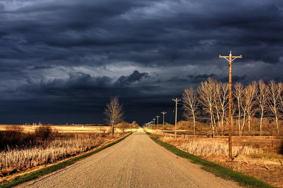 Storm Tracking  by David Matthews