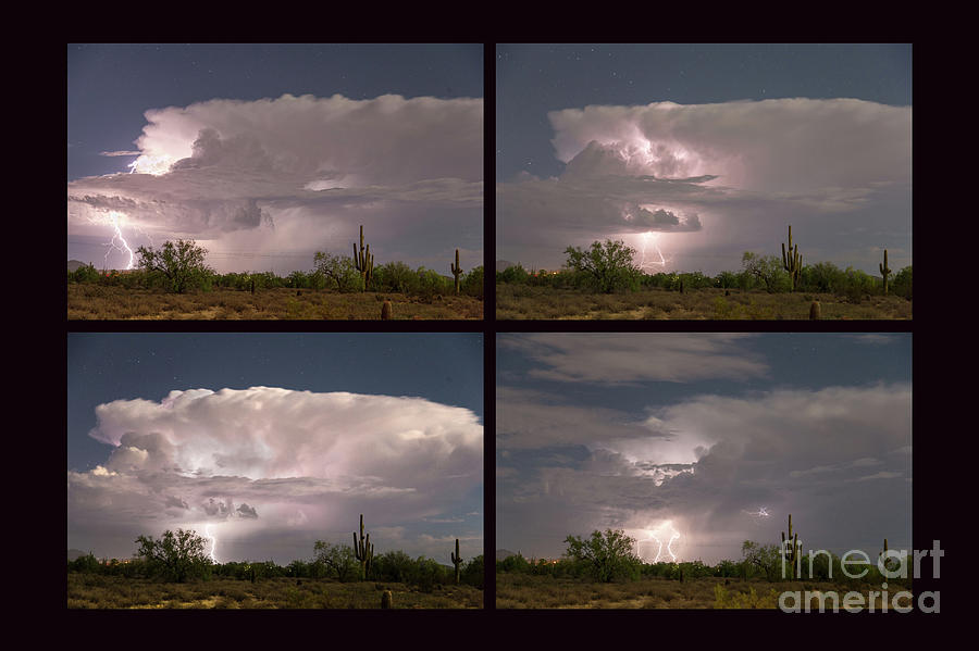 Arizona Photograph - Storming Sonoran Desert by James BO Insogna