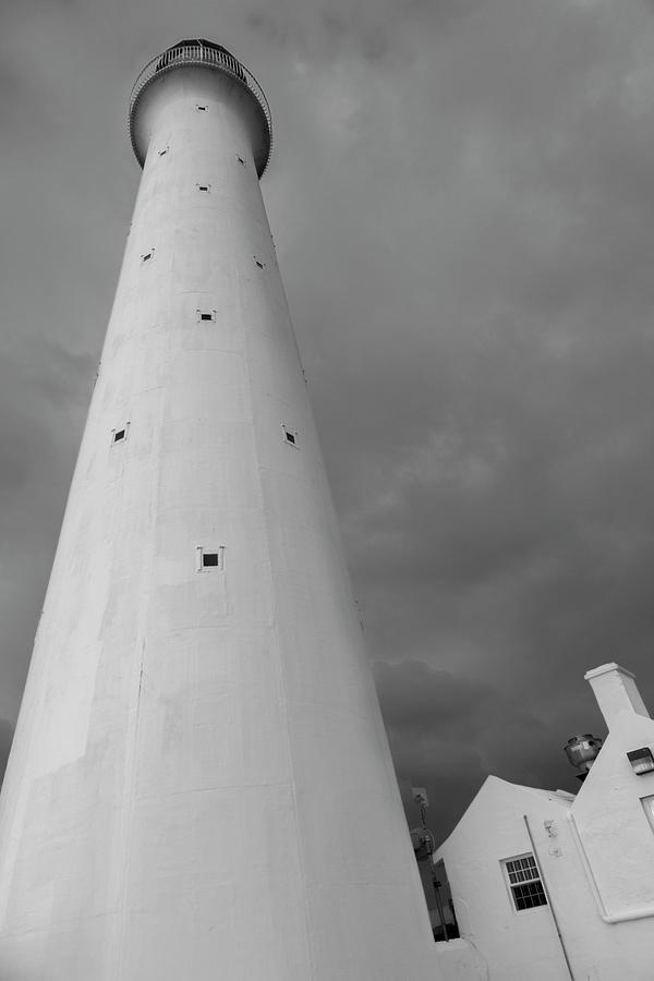 Bermuda Photograph - Stormy Bermuda Lighthouse  by Betsy Knapp