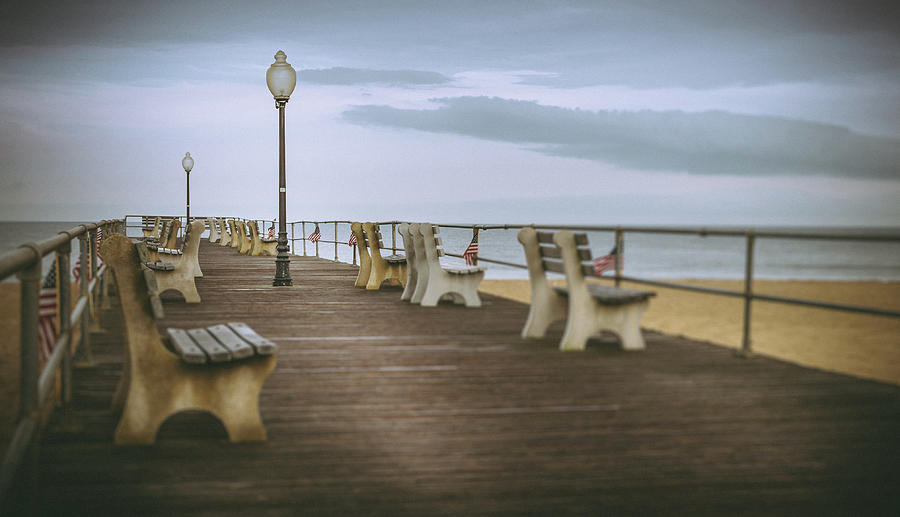 stormy boardwalk 2 by Steve Stanger