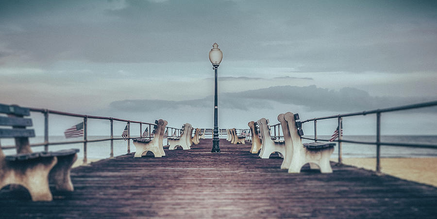 stormy boardwalk by Steve Stanger