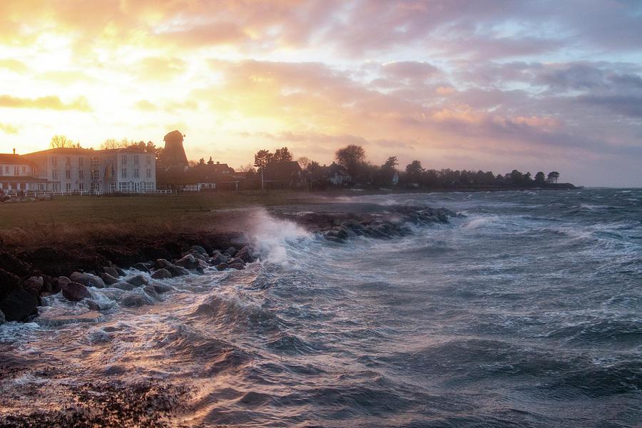 Stormy Coast Photograph
