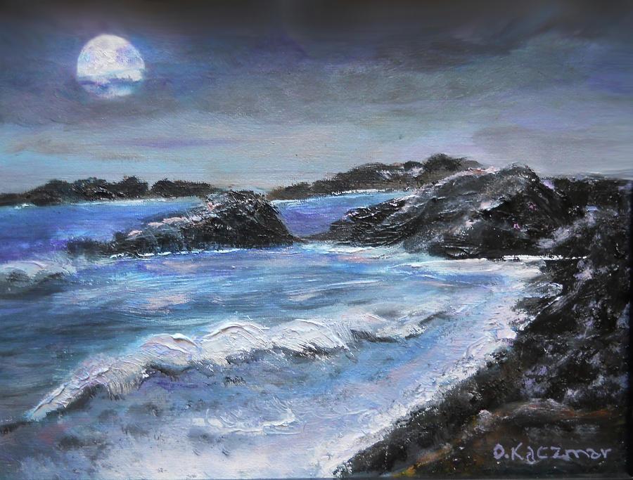 Stormy Coastline by Olga Kaczmar