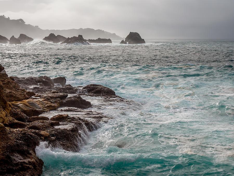 Stormy Day at Point Lobos by Derek Dean